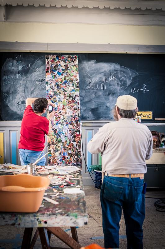 Atelier au Camion - déc 2013