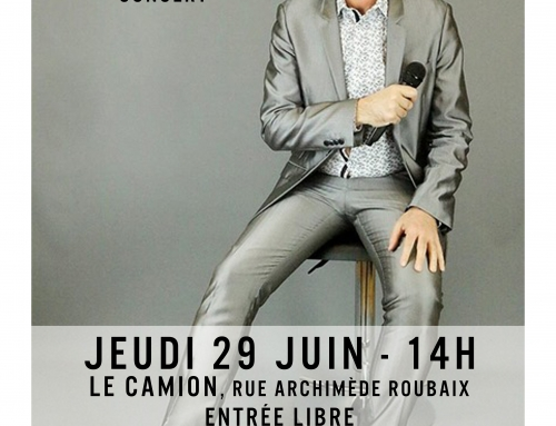 Spectacle : Concert de Laurent Dematte – 29 juin –