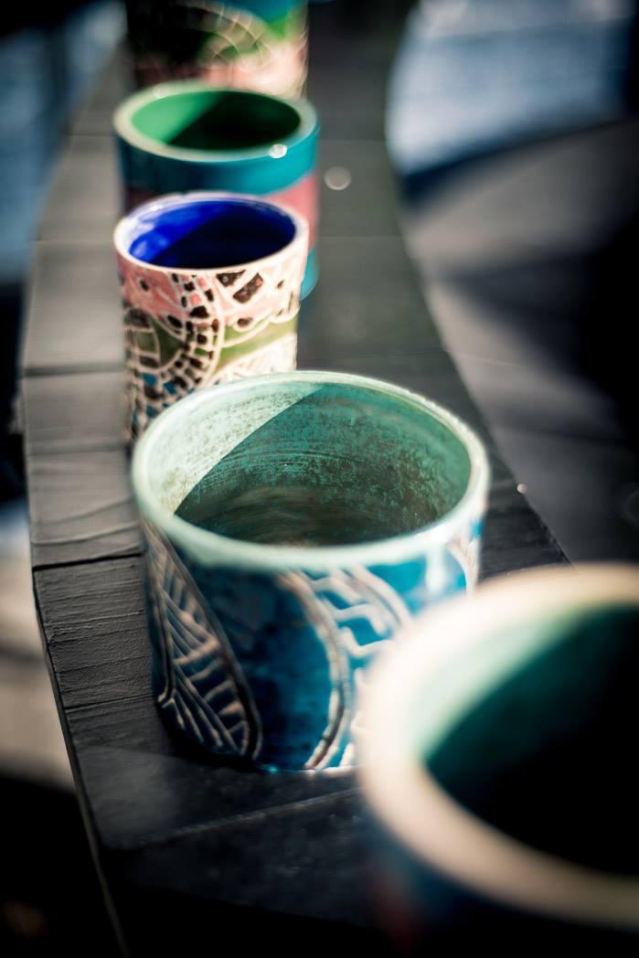 Atelier céramique au Camion