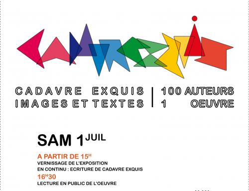 CADAVRE EXQUIS – Arnaud Malras – juillet 2017