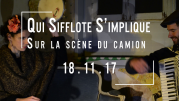 #2PasBesoinDeCrier / Qui Sifflote S'implique / 18/11/2017