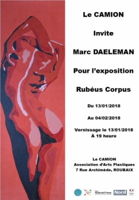 EXPOSITION: Rubéus Corpus – Marc DAELEMAN