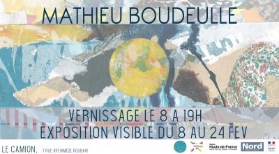 Exposition – Mathieu Boudeulle – Février 2018
