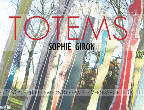 Exposition: TOTEMS – Sophie Giron – JUIN