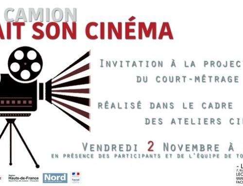 Evénement : Le Camion fait son Cinéma – 02/11