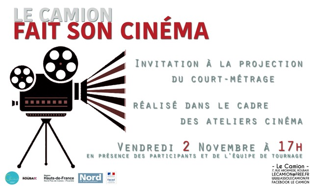 Invitation Projection cinema