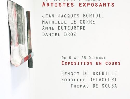 Exposition : Portes Ouvertes des Ateliers d'Artistes – 12, 13 et 14 Octobre