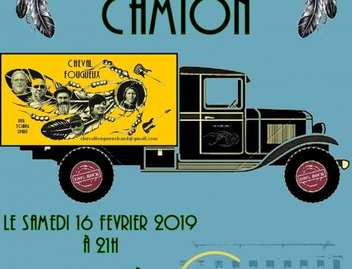 Concert : Cheval Fougueux – 16/02