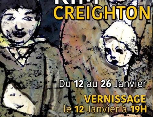 Exposition : Kim Creighton – 12/01 au 26/01