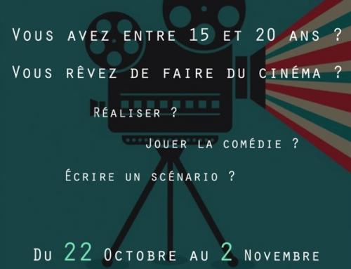 Atelier : Le Camion fait son cinéma – 22/10 au 02/11