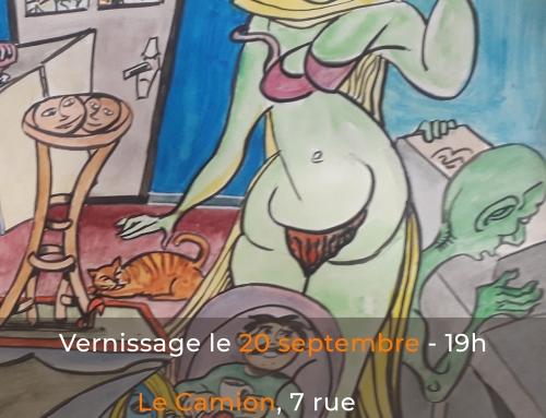 Exposition : Nicolas Daquin – 20/09