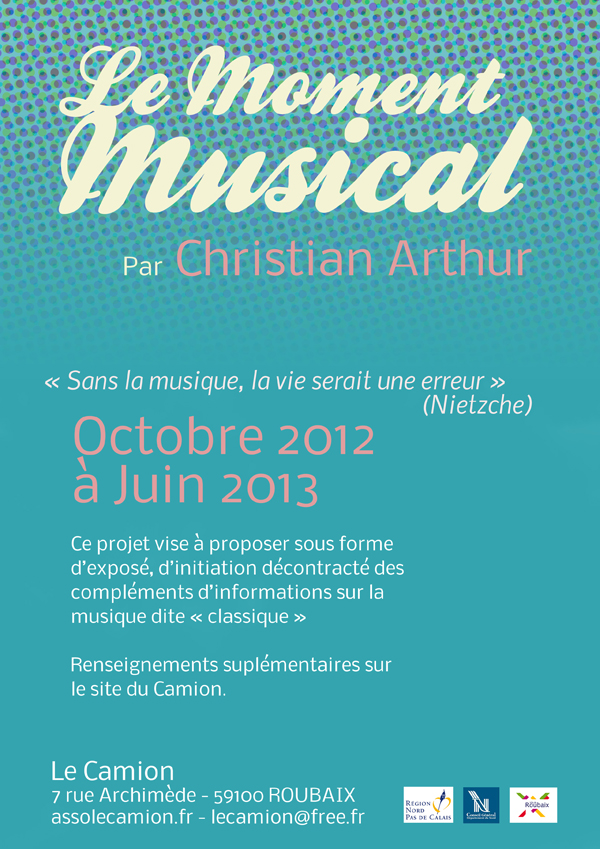 Le moment musical (par Christian Arthur)