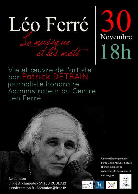 Léo Ferré : La musique et les mots