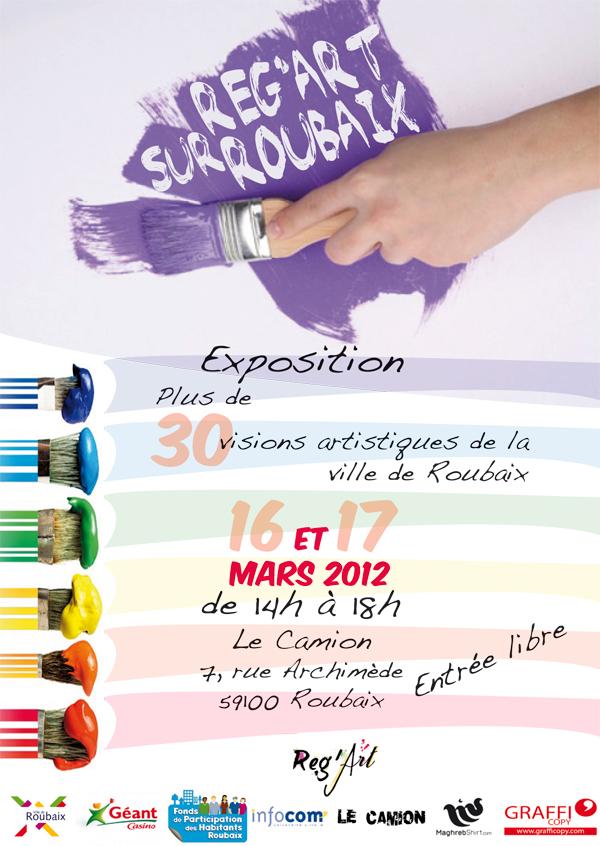 Reg'Art sur Roubaix