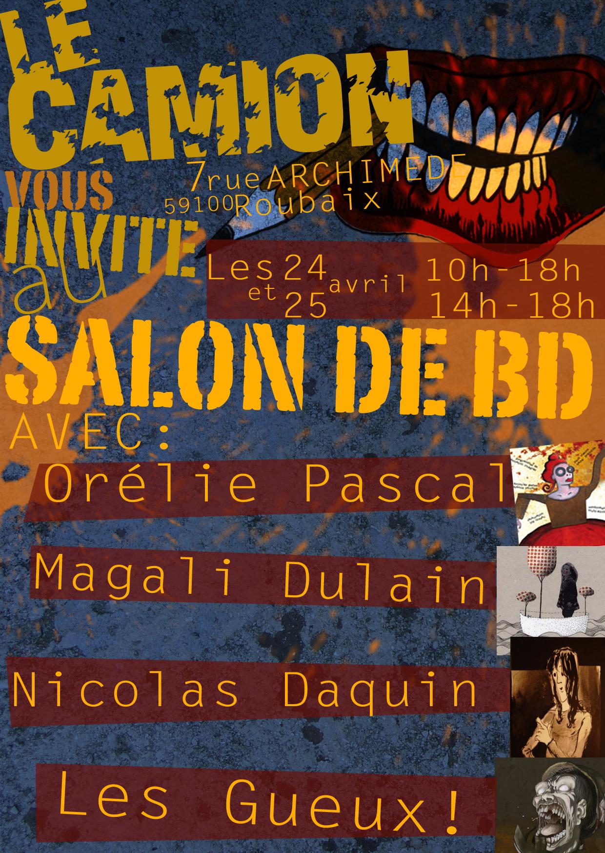 Salon de la bd 2010